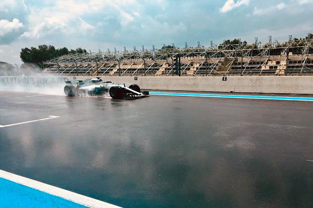 В Поль-Рикар завершились тесты дождевых шин Pirelli