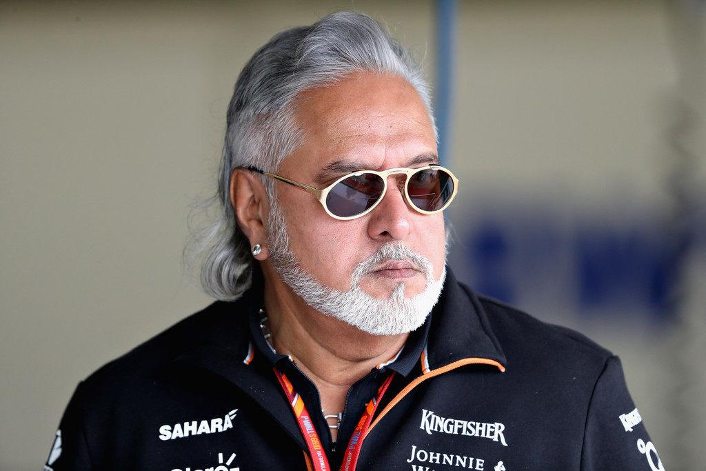 Виджей Малья покинул пост руководителя Force India