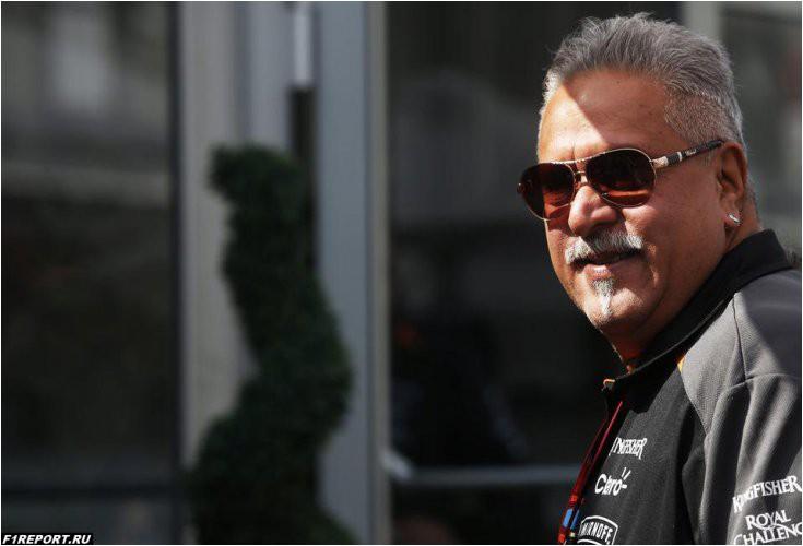 Малья покинул должность руководителя Force India