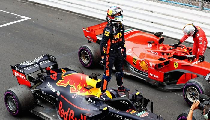 Риккардо вошел в топ-3 личного зачета Формулы-1