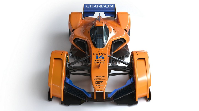 McLaren представила гоночную машину будущего X2