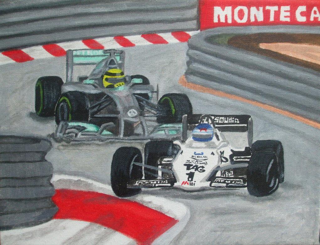 Видео: Нико и Кеке Росберги за рулем чемпионских машин в Монако