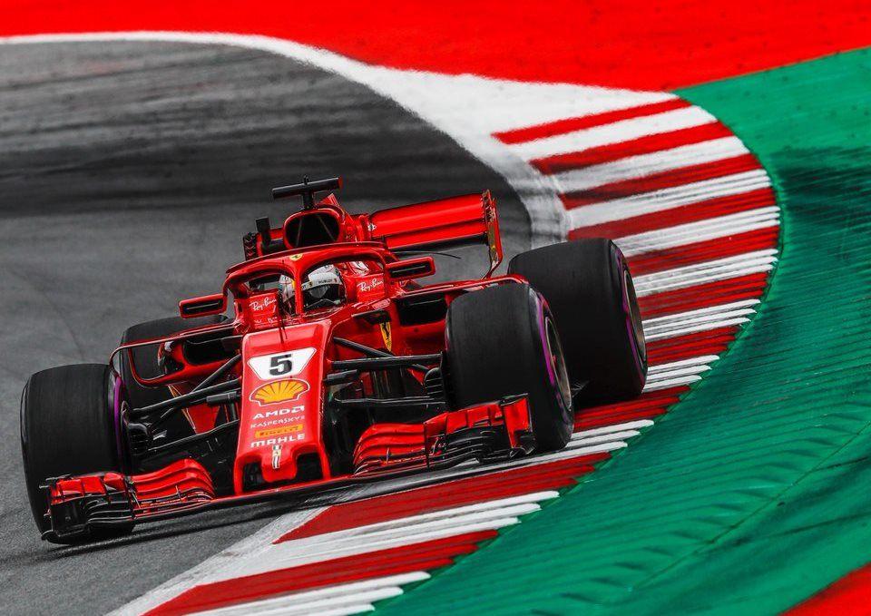 Себастьян Феттель оштрафован и стартует на Гран При Австрии шестым