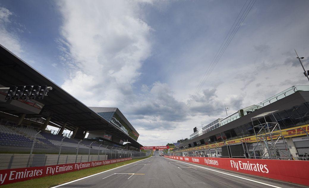 Стартовая решетка Гран При Австрии