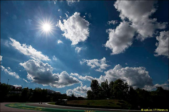 Гран При Венгрии: Прогноз погоды на гонку