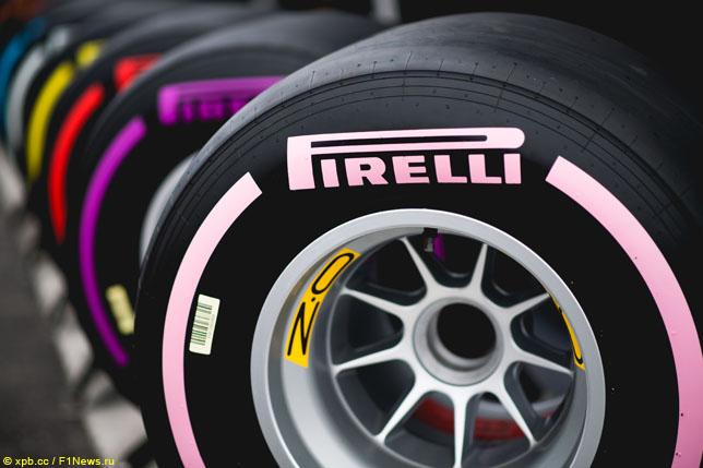 В Pirelli назвали составы для Гран При Мексики