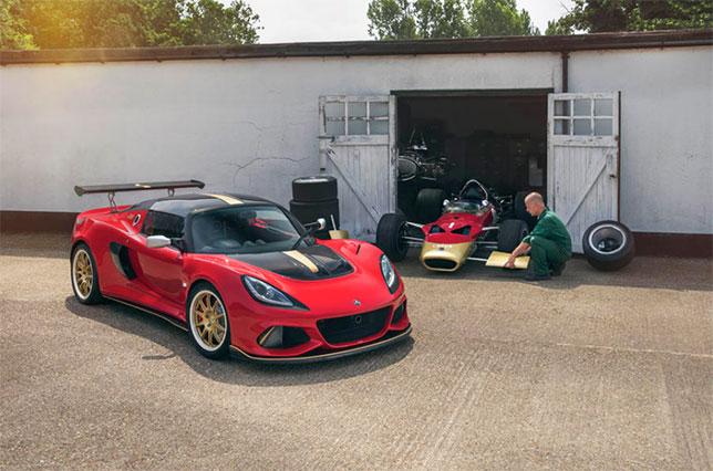 Спорткары Lotus Type 49 и 79 посвящены былой славе марки