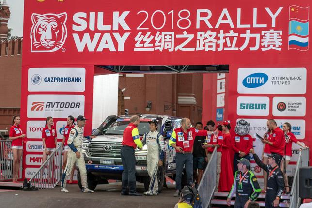 Шёлковый путь: Фотогалерея седьмого этапа и финиш