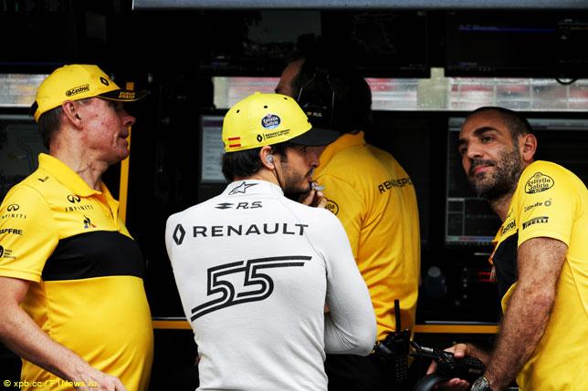 В Renault определятся с составом команды к этапу в Спа