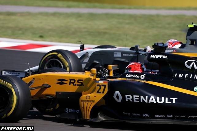 В Германию Renault должна привезти новое переднее крыло