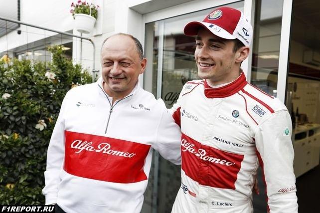 Вассер объяснил, почему в Ferrari не решаются подписывать контракты с молодыми гонщиками