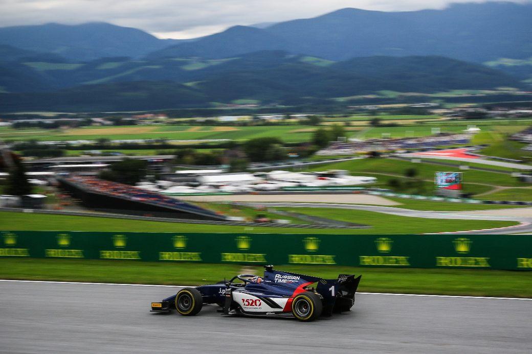 Артём Маркелов выиграл спринт Формулы 2 в Шпильберге