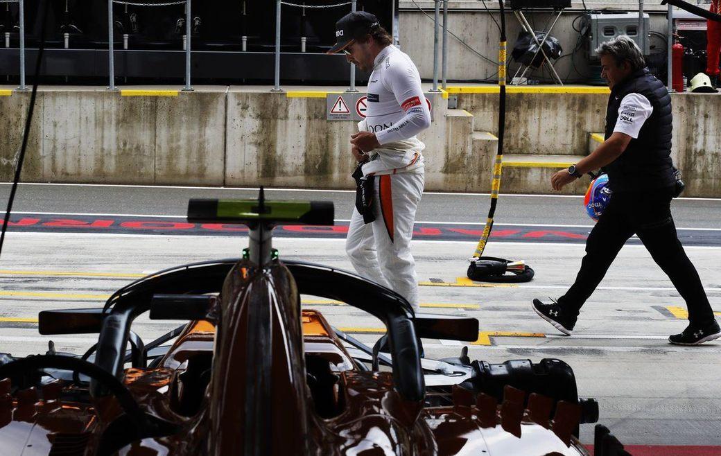 Фернандо Алонсо стартует на Гран При Австрии с пит-лейна