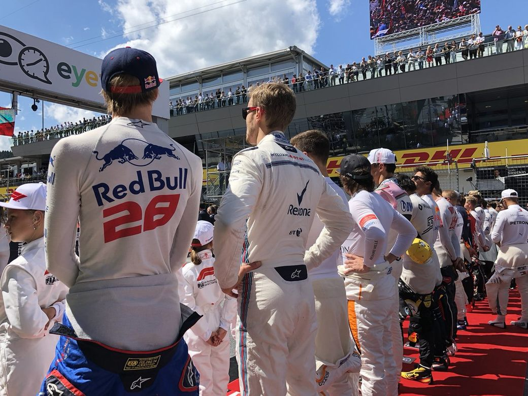 Читательский рейтинг пилотов Гран При Австрии. Расставь оценки сам!