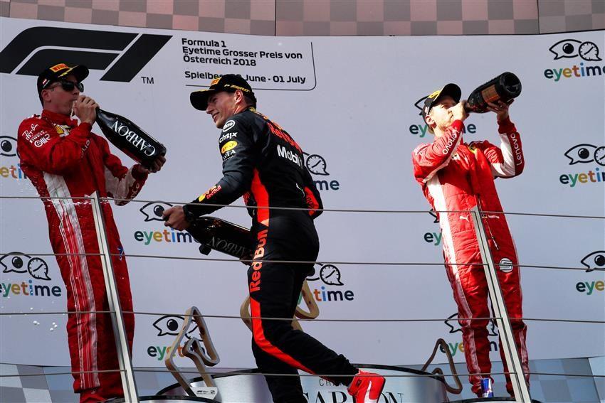 В Mercedes не удивлены отсутствием командной тактики в Ferrari на Гран При Австрии
