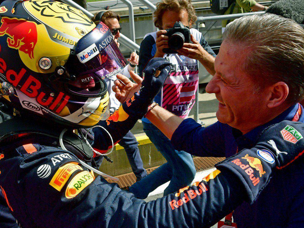 Йос Ферстаппен: Макс победил благодаря своему смелому стилю пилотирования