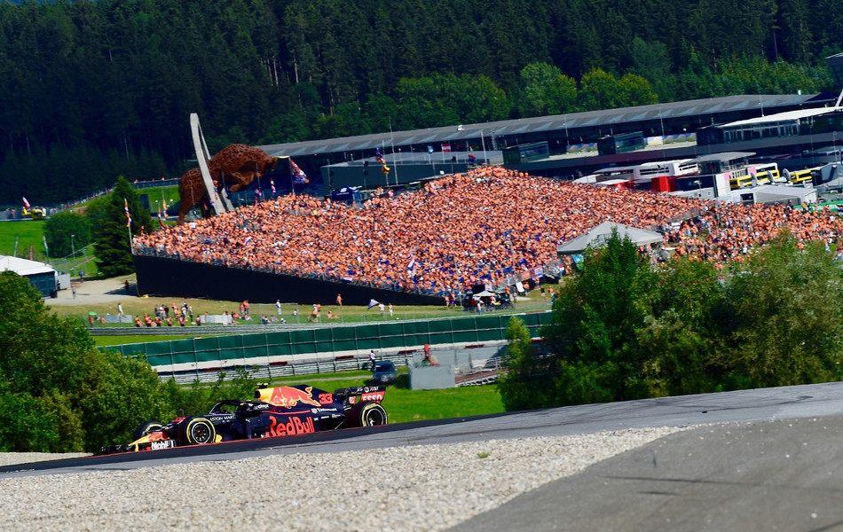 Любопытная статистика Гран При Австрии