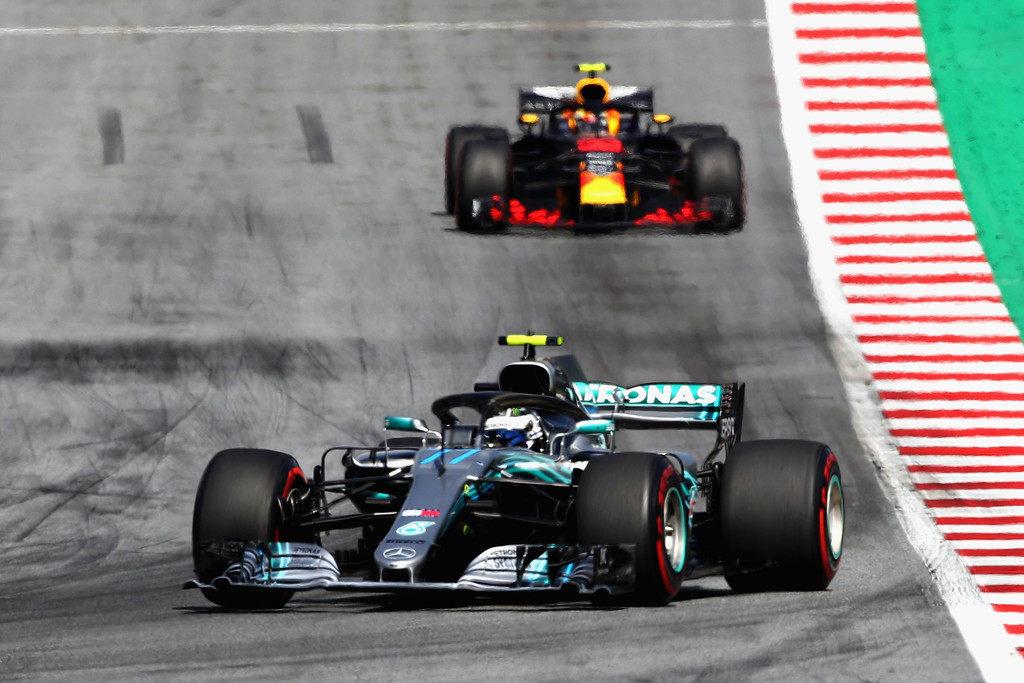 Mercedes подтвердила замену двигателя на машине Валттери Боттаса