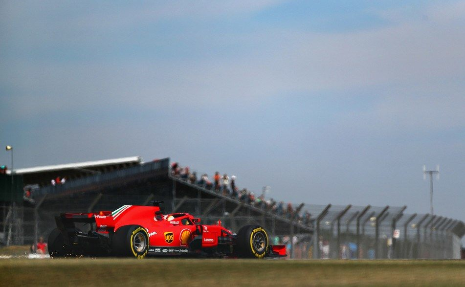 Себастьян Феттель: Важно, что Ferrari быстра уже на пятничных тренировках
