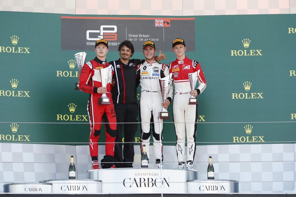 Никита Мазепин стал вторым в первой гонке GP3 в Сильверстоуне