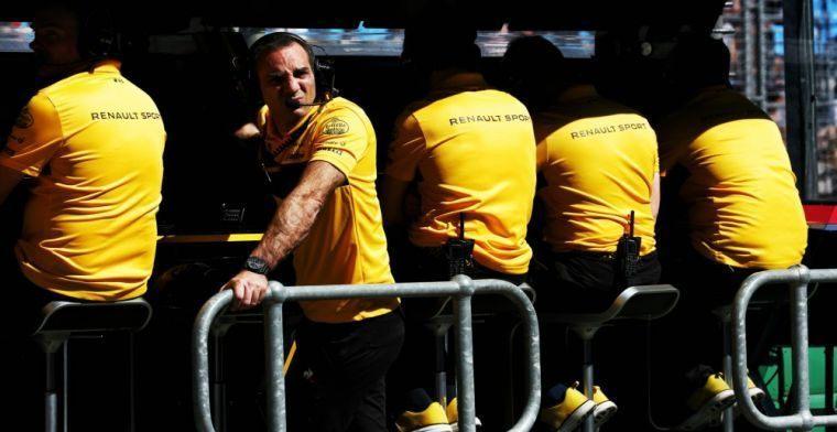 В Renault объяснили свой нестандартный выбор резины в Сильверстоуне