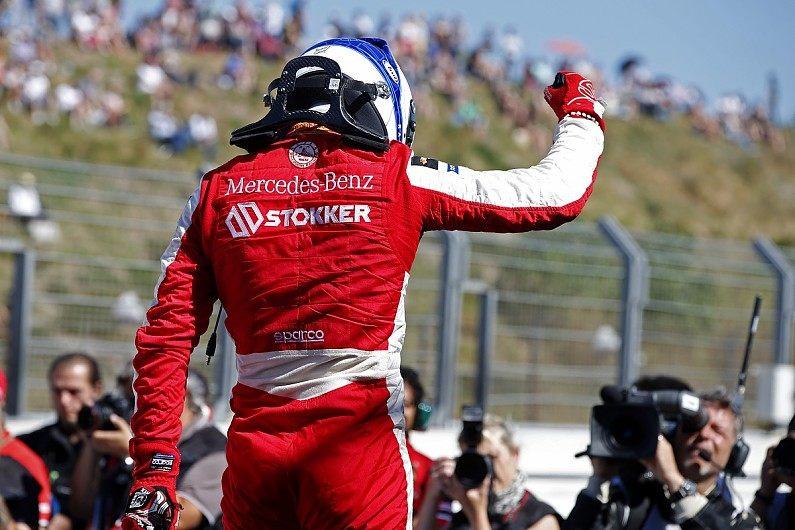 Ральф Арон выиграл и вторую гонку этапа Формулы 3 в Зандворте