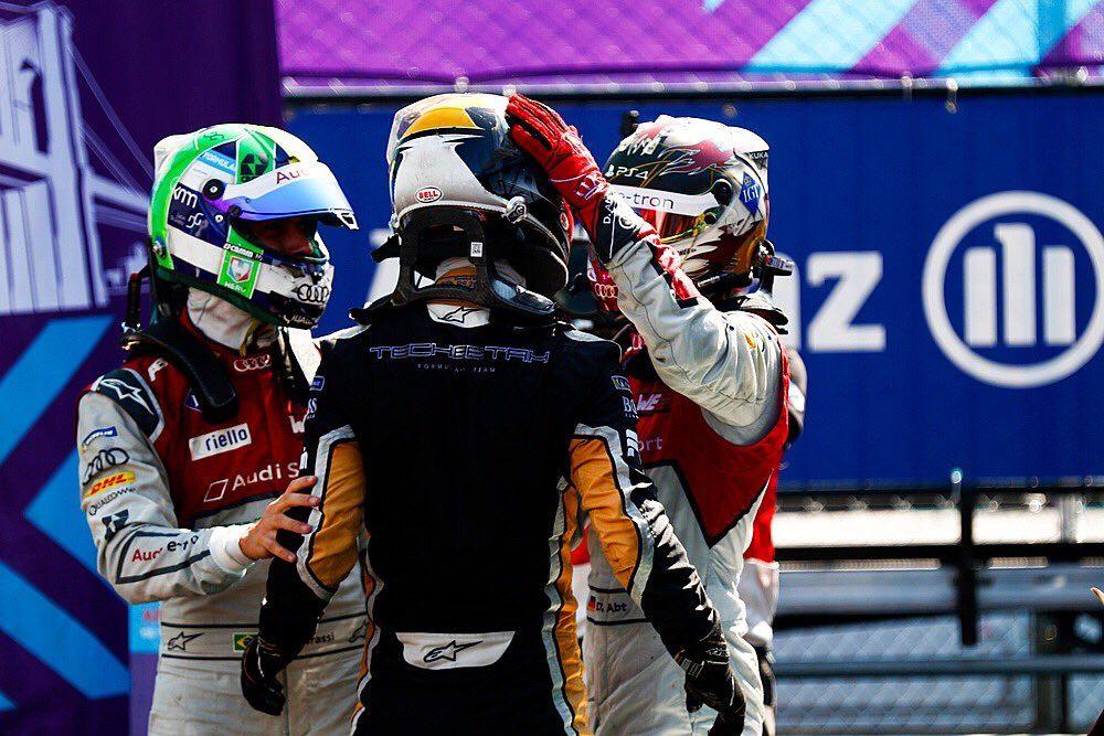 Жан-Эрик Вернь выиграл финальную гонку сезона в Формуле E