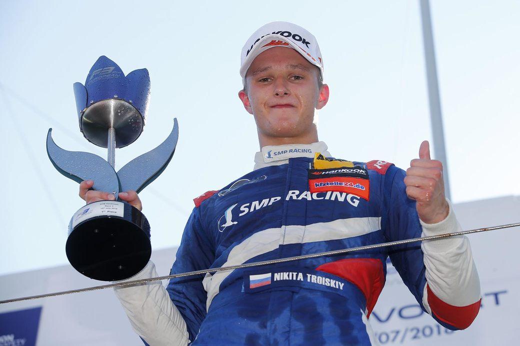 Петр Алёшин: Для нас очень важна победа Троицкого в Европейской Формуле 3