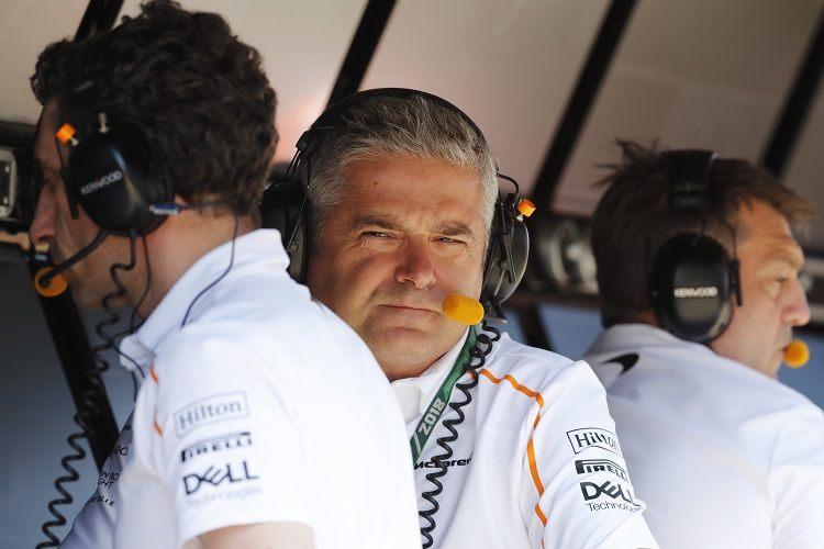 Жиль де Ферран: Необходимо налаживать связи внутри McLaren