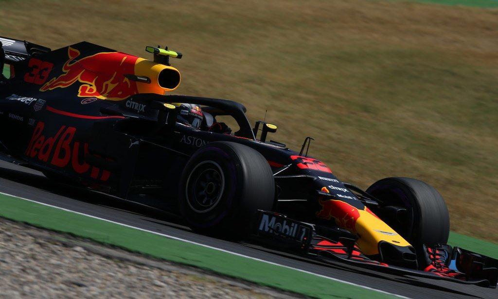 Макс Ферстаппен лучший на пятничных тренировках Гран При Германии
