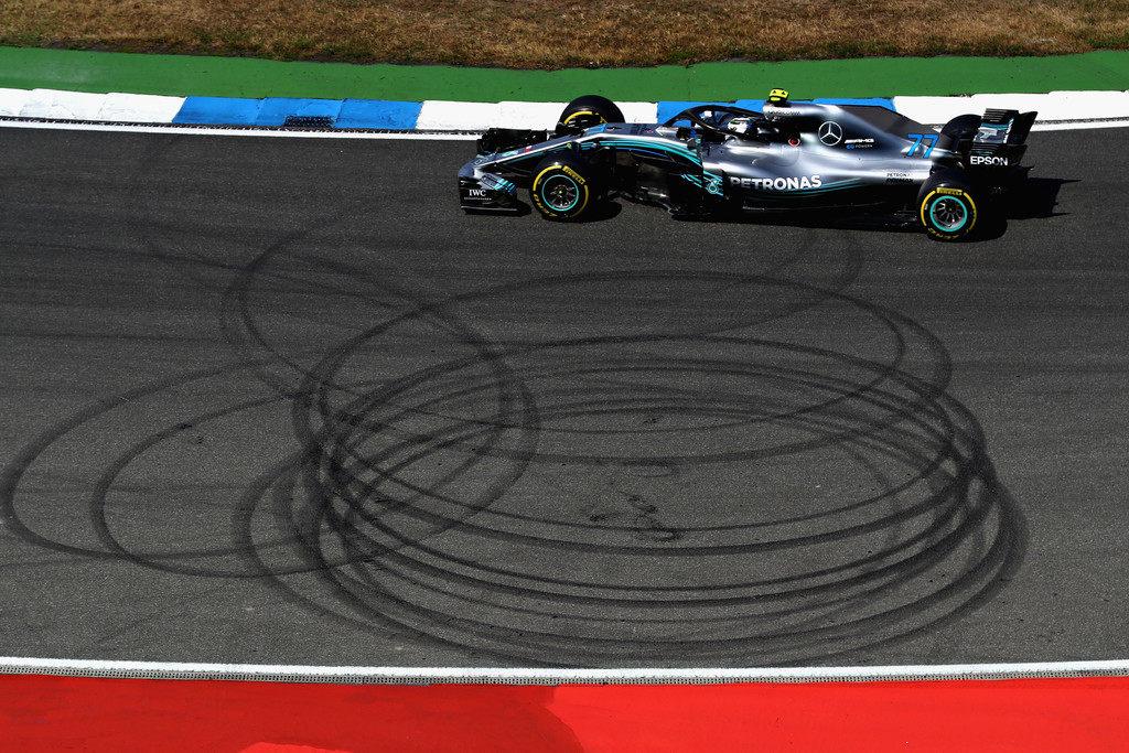 Валттери Боттас: Феттель и Ferrari были слишком быстры