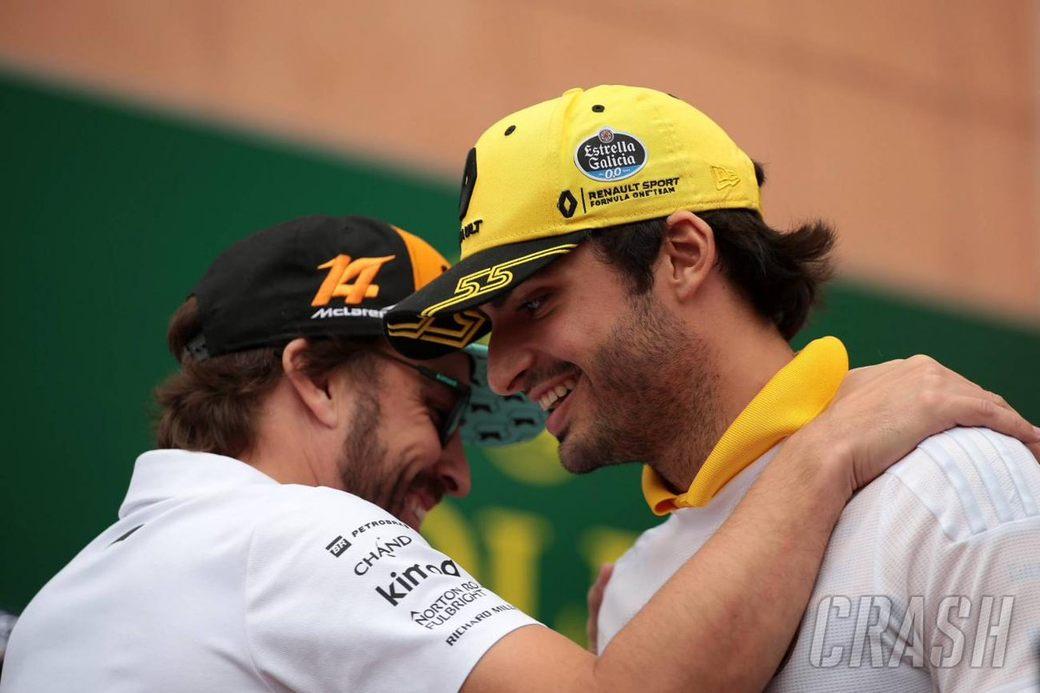 В McLaren готовы пригласить Карлоса Сайнса в напарники к Фернандо Алонсо