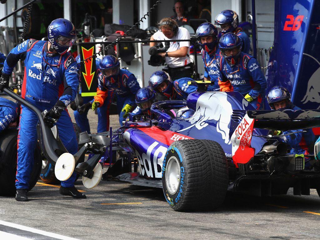 В Toro Rosso объяснили переход Пьера Гасли на дождевые шины в Хоккенхайме