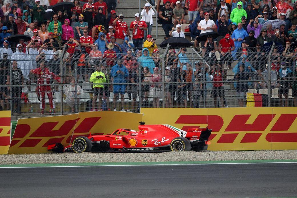 Жак Вильнёв: Ошибка на Гран При Германии дорого обойдется Феттелю