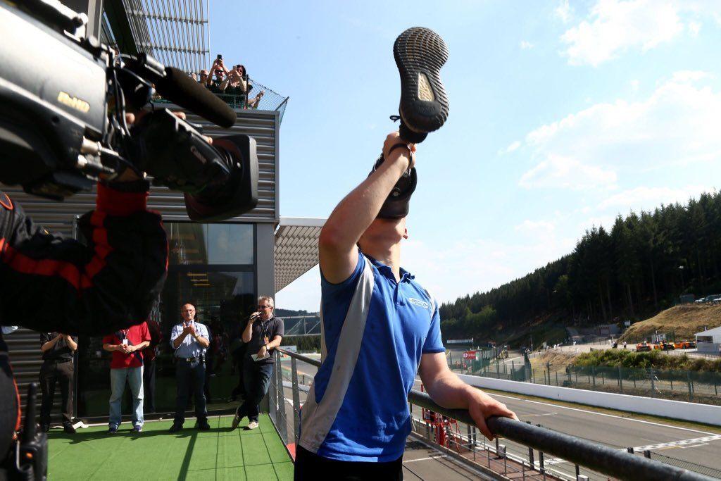 Билли Монгер поднялся на подиум в британской Ф3 и превратил