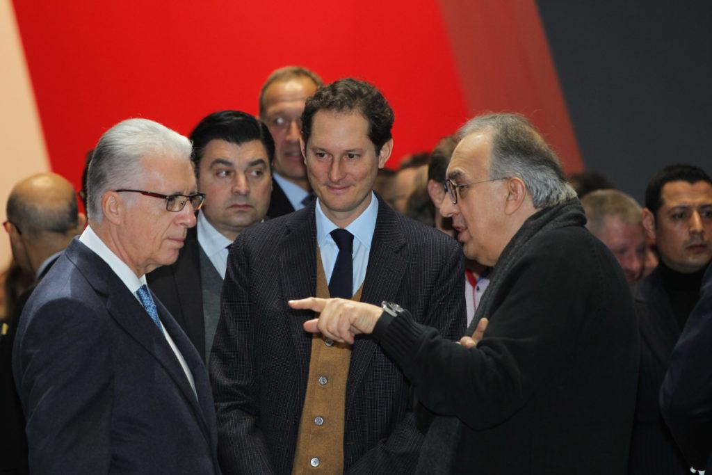 Новый президент Ferrari Джон Элканн почтил память Серджио Маркионе