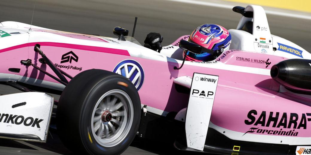 Джехан Дарувала стартует с поула в первой гонке Европейской Формулы 3 в Спа