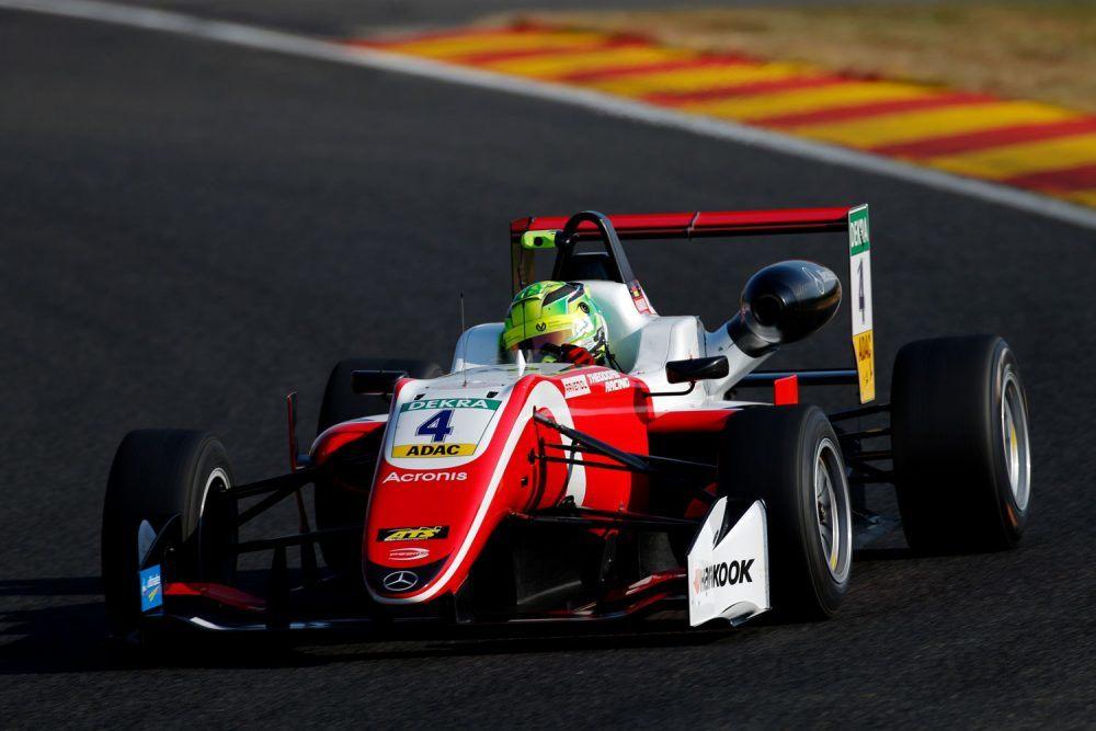 Мик Шумахер завоевал свой первый поул в Европейской Формуле 3