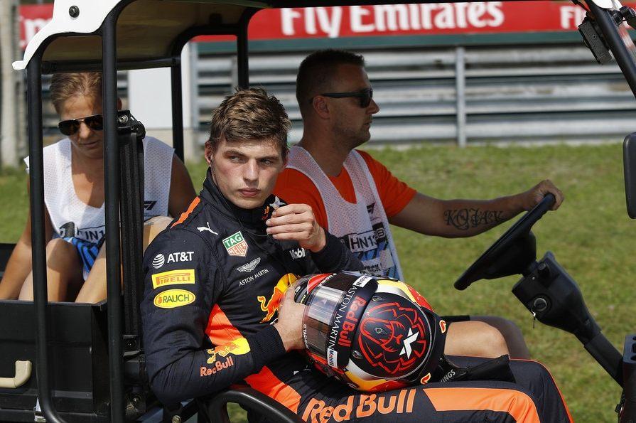 Макс Ферстаппен сожалеет о своей ругани после схода на Гран При Венгрии