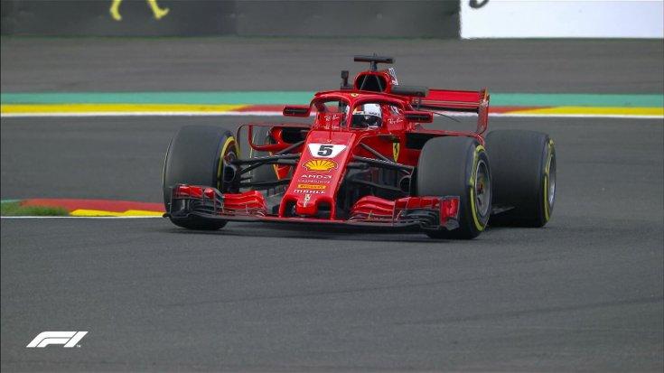 Результаты первой сессии свободных заездов Гран-При Бельгии