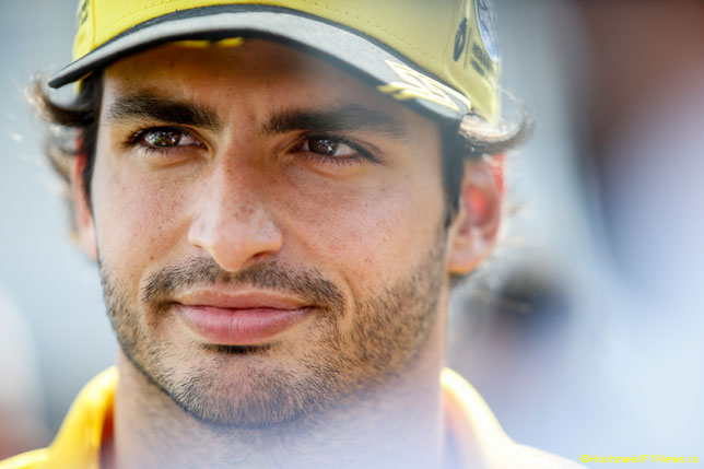 Сайнс: Я полюбил Формулу 1 благодаря Renault