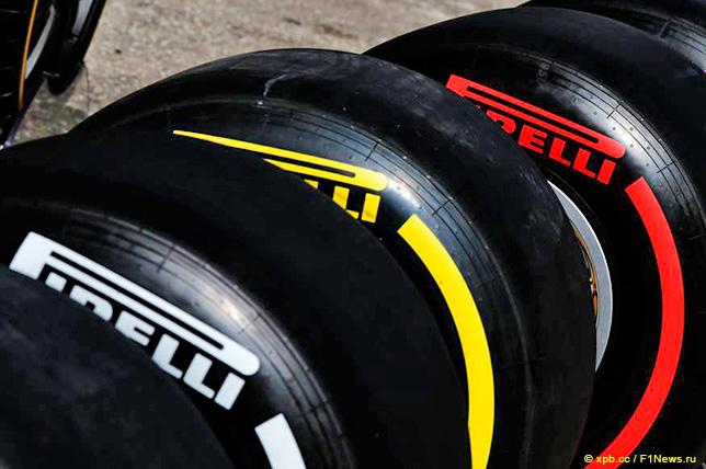 В Pirelli подтвердили выбор шин для Спа и Монцы