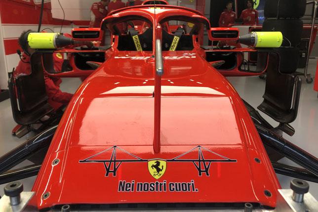 В Ferrari вспоминают жертв трагедии в Генуе