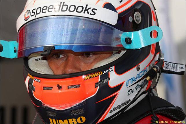 Ф2: Ник де Вриз выиграл квалификацию в Спа