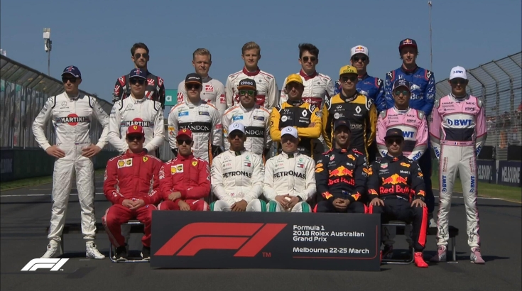 Составы команд Формулы-1 в сезоне 2019
