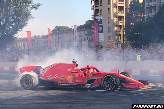 Руководители Формулы 1 провели в Милане гоночное шоу