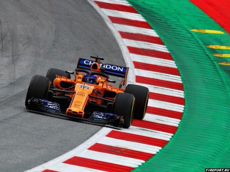 Зак Браун: Если бы мы лучше выступали, то Алонсо бы хотел остаться в Формуле 1