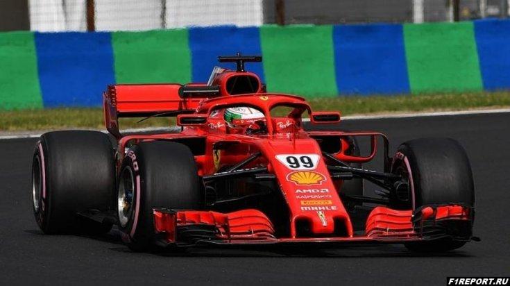 Джовинацци: В Ferrari заметно прибавили