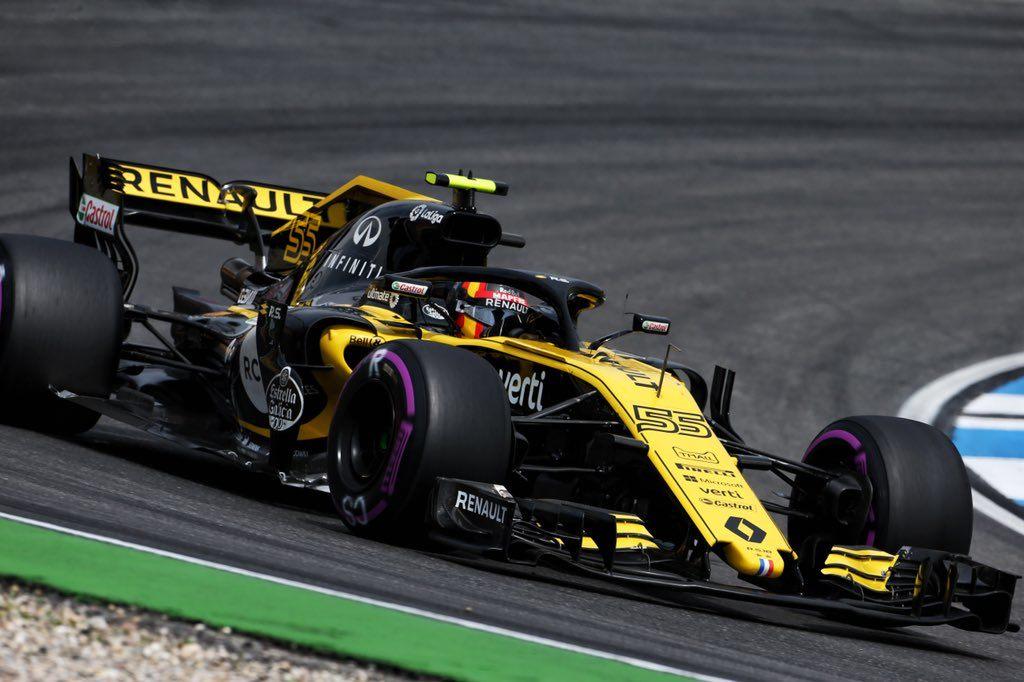 В Спа Renault привезет обновление днища шасси RS18
