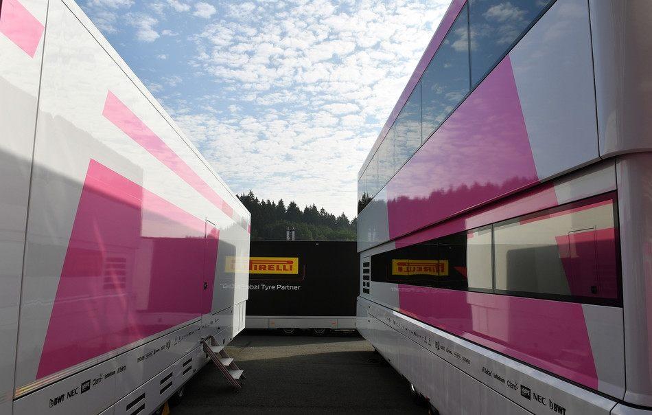 Force India проведет Гран При Бельгии под новым названием
